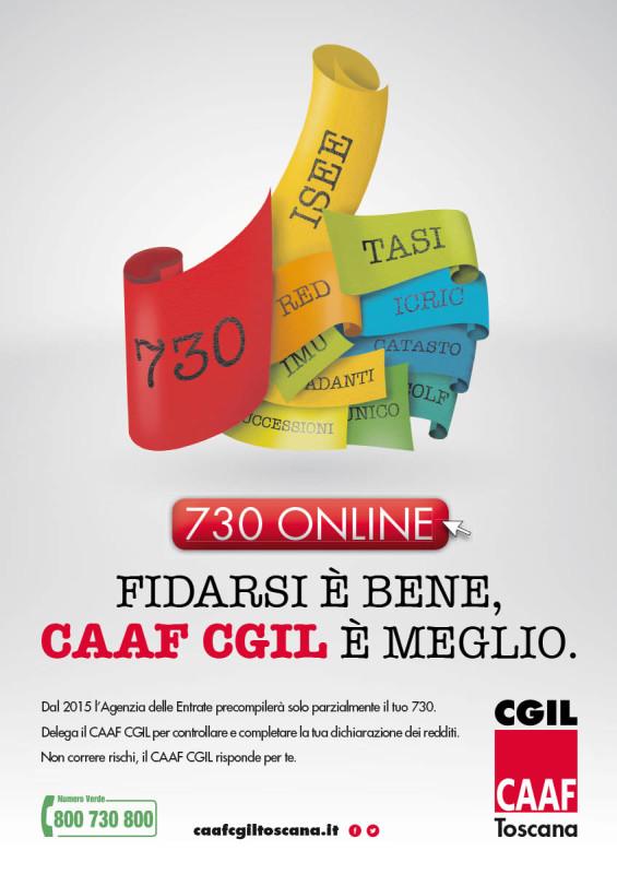 Campagna pubblicitaria CGIL