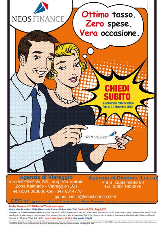 Campagna pubblicitaria NEOS FINANCE